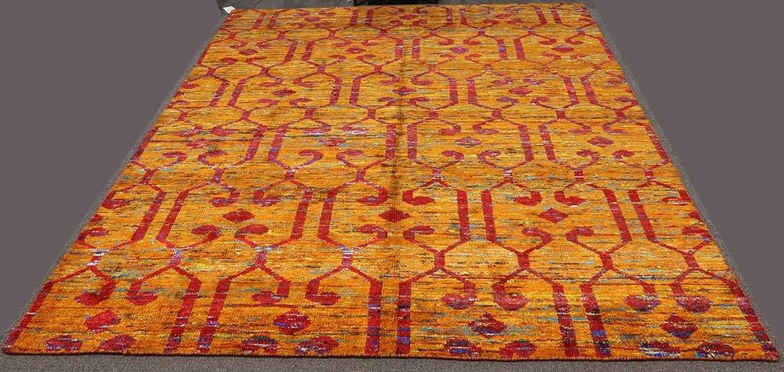 "Sari Silk rug, 7'9"" x 9""7"""