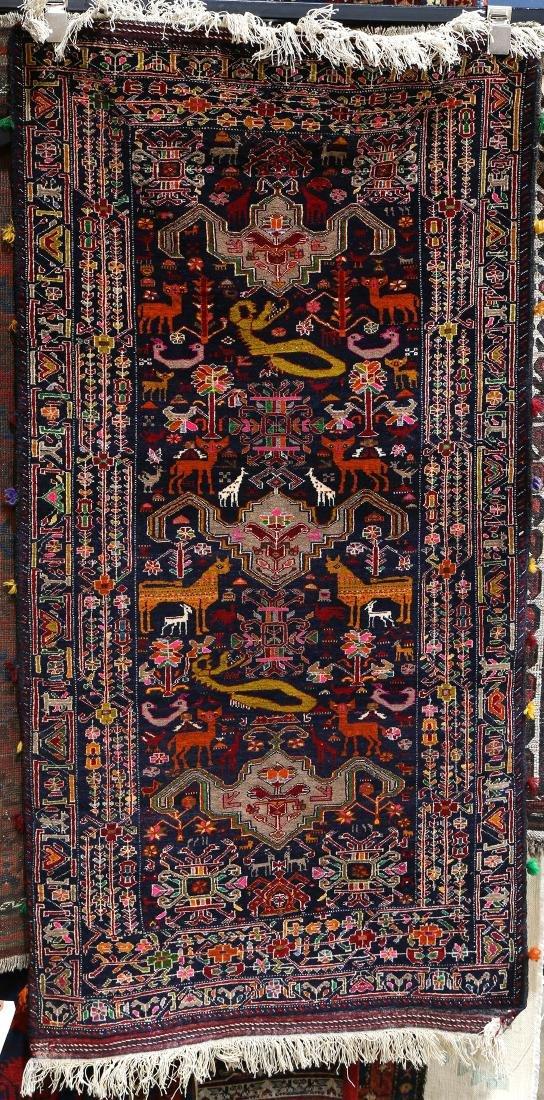 """Belouch carpet , 2'8"""" x 5'2"""""""