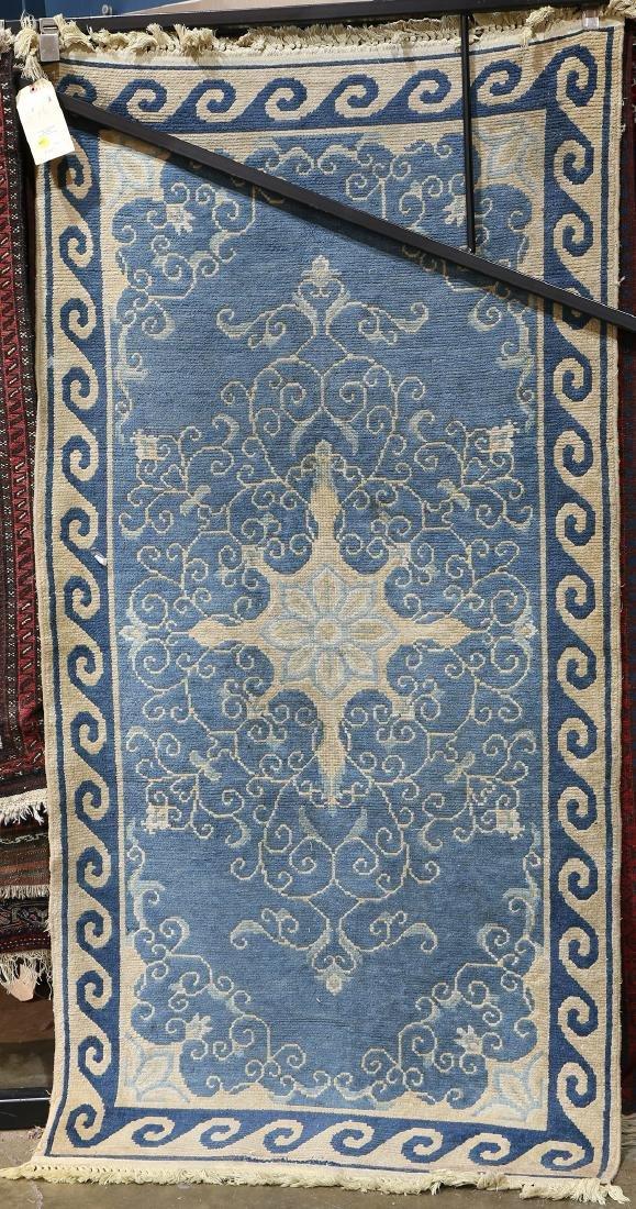 """Chinese style machine made carpet, 6'3"""" x 3'1"""""""