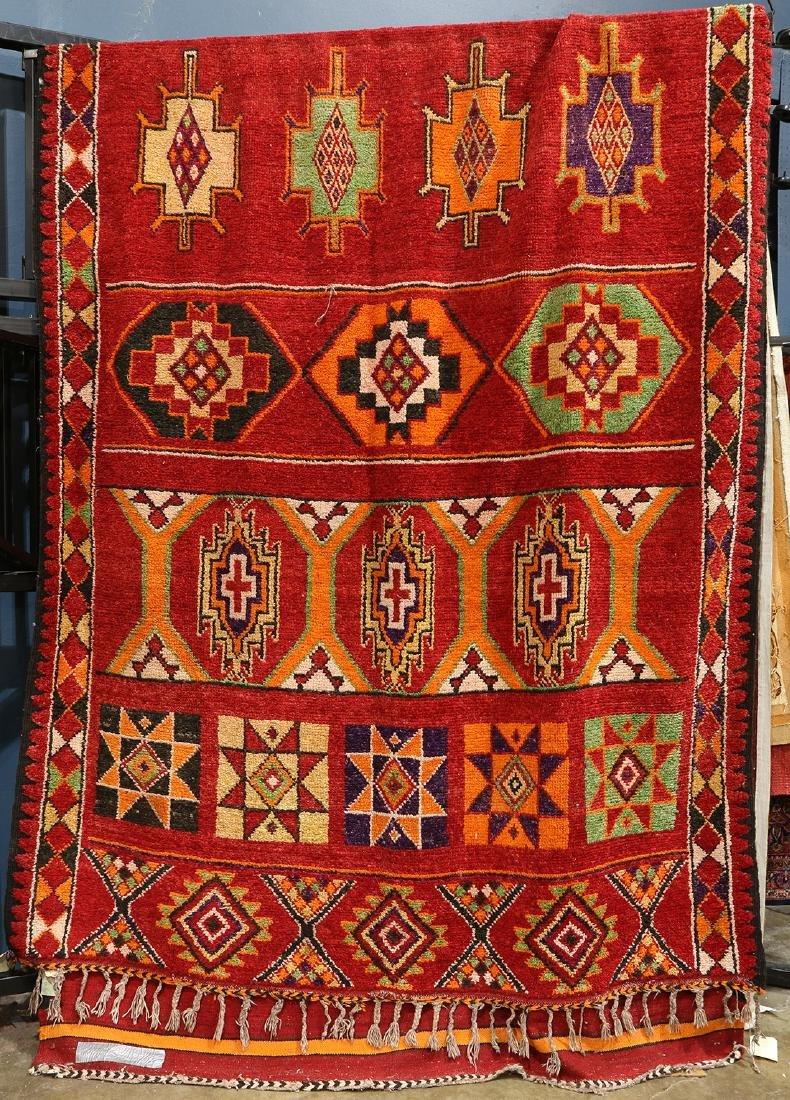 """Morrocan rug, 18' x 6'6"""""""