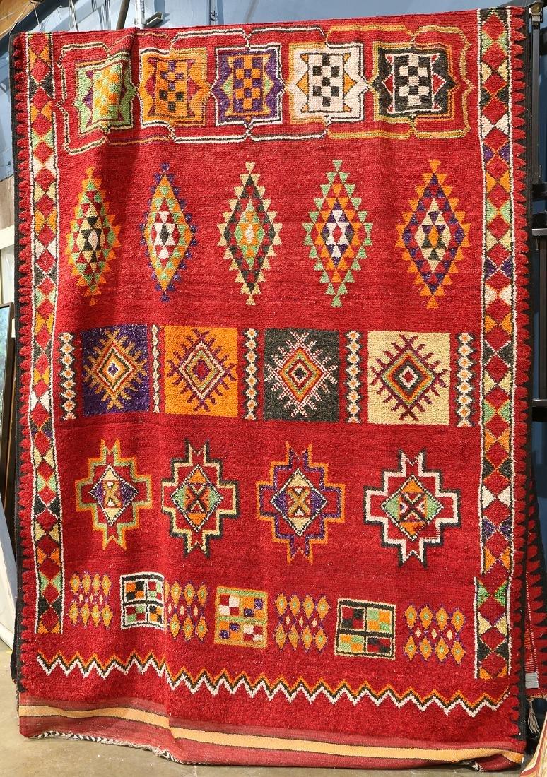 """Morrocan rug, 18' x 6'6"""" - 2"""