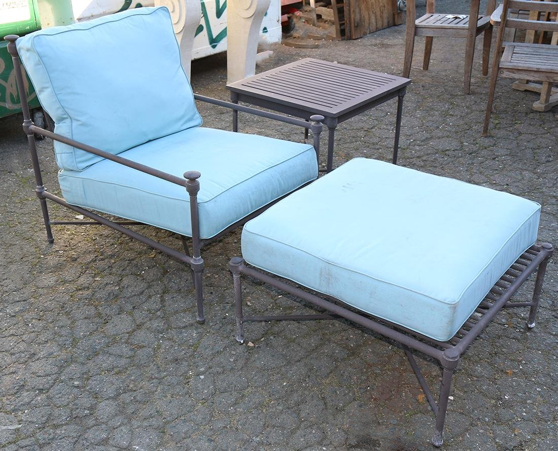 (lot of 3) Outdoor furniture suite