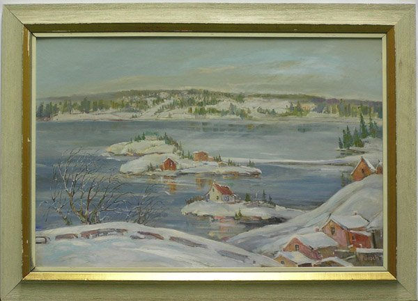 473: Painting Lillian McGeoch Canadian