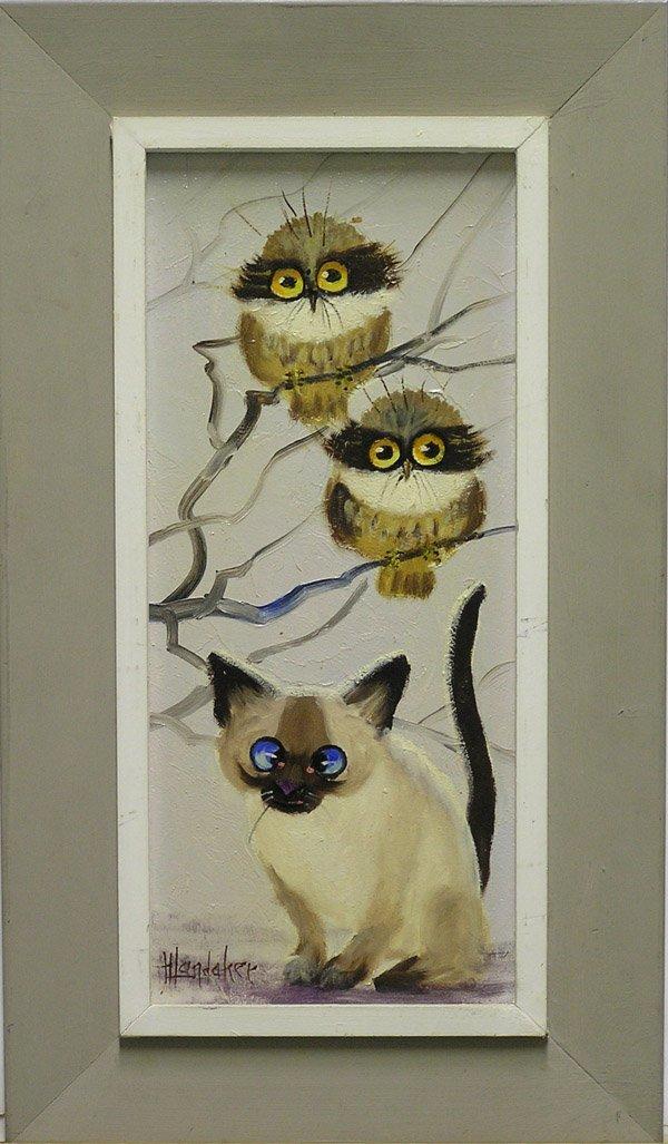 501: Painting Harold Landaker Californian