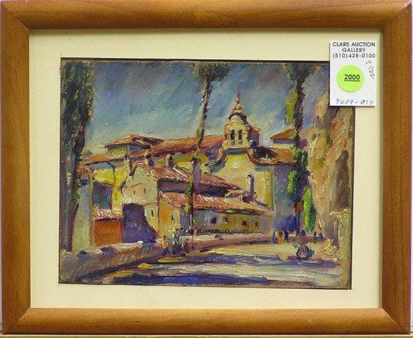 2000: Painting Max Kuehne American genre