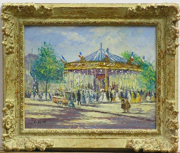 2003: Painting French L. Kohn genre