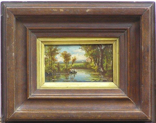 2012: Miniature painting landscape European