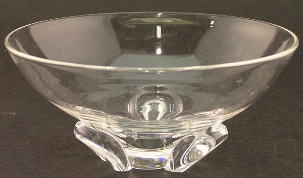 2016: Steuben crystal bowl signed