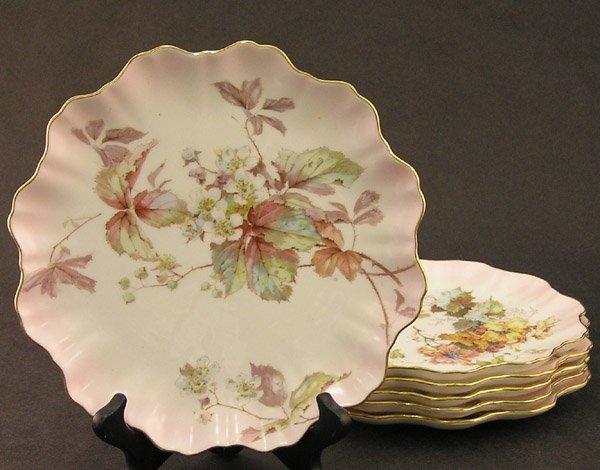 2020: Doulton porcelain dessert plates