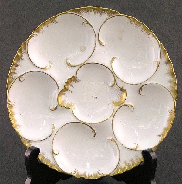 2022: Haviland & Co. porcelain oyster plate