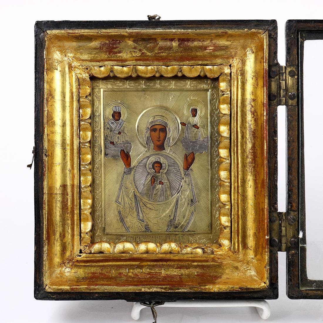 Framed Russian icon