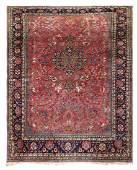 Antique Persian Tabriz carpet 85 x 126