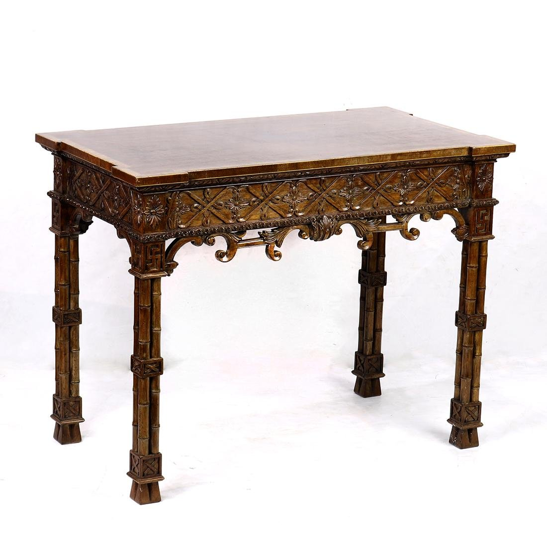 Italian Baroque style console table