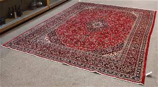 Semi-antique Persian Kashan carpet