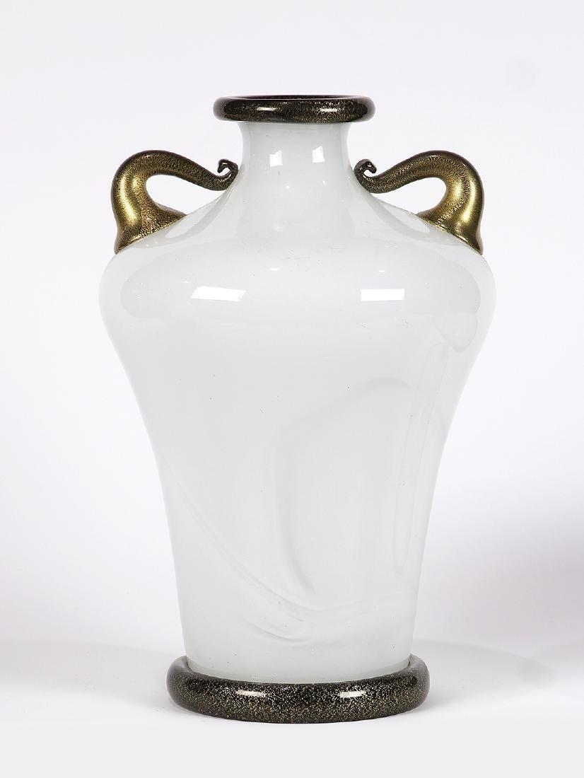 Barovier and Toso Primavera series amphora vase circa