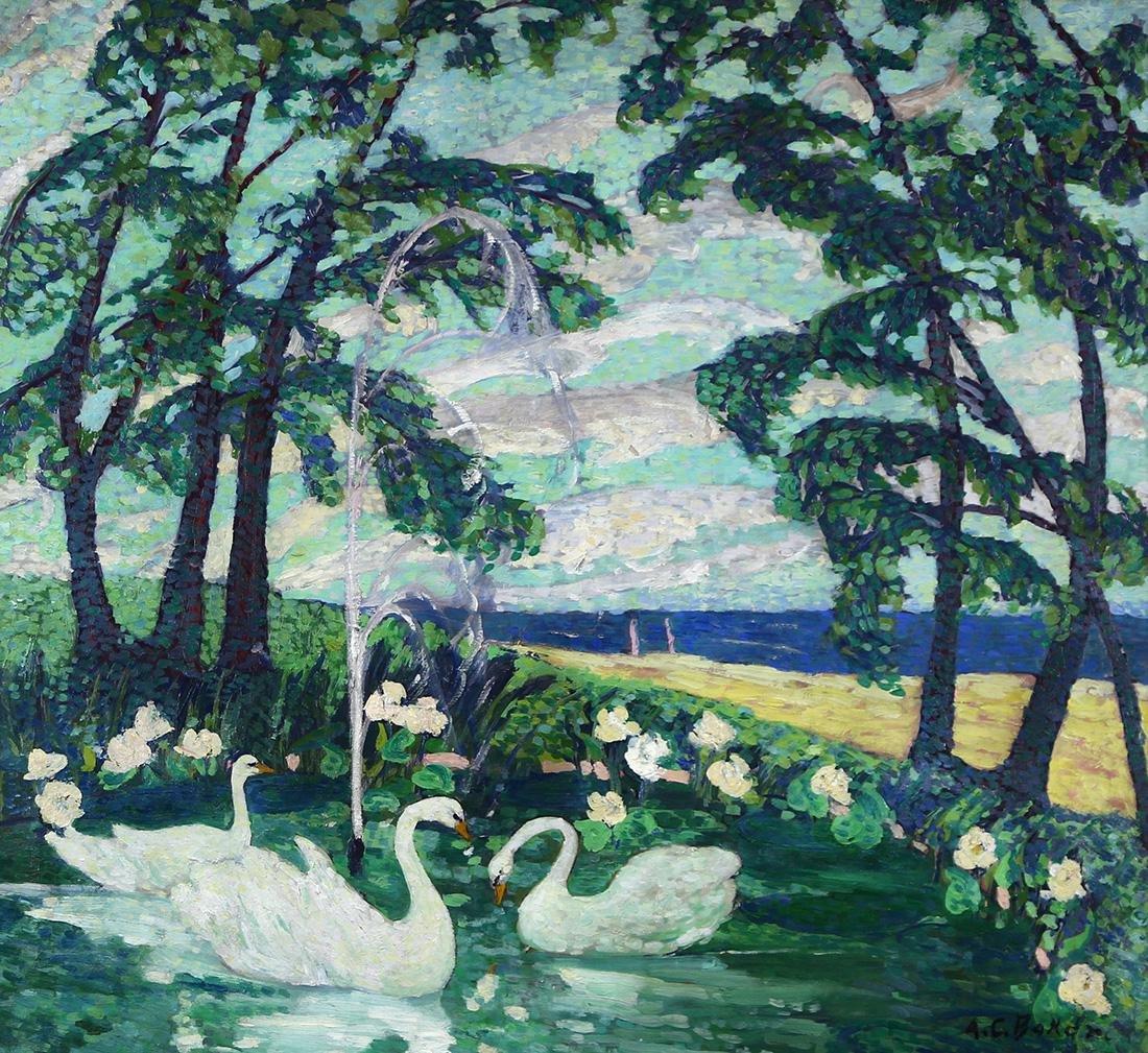 Painting, Adelaide Baker