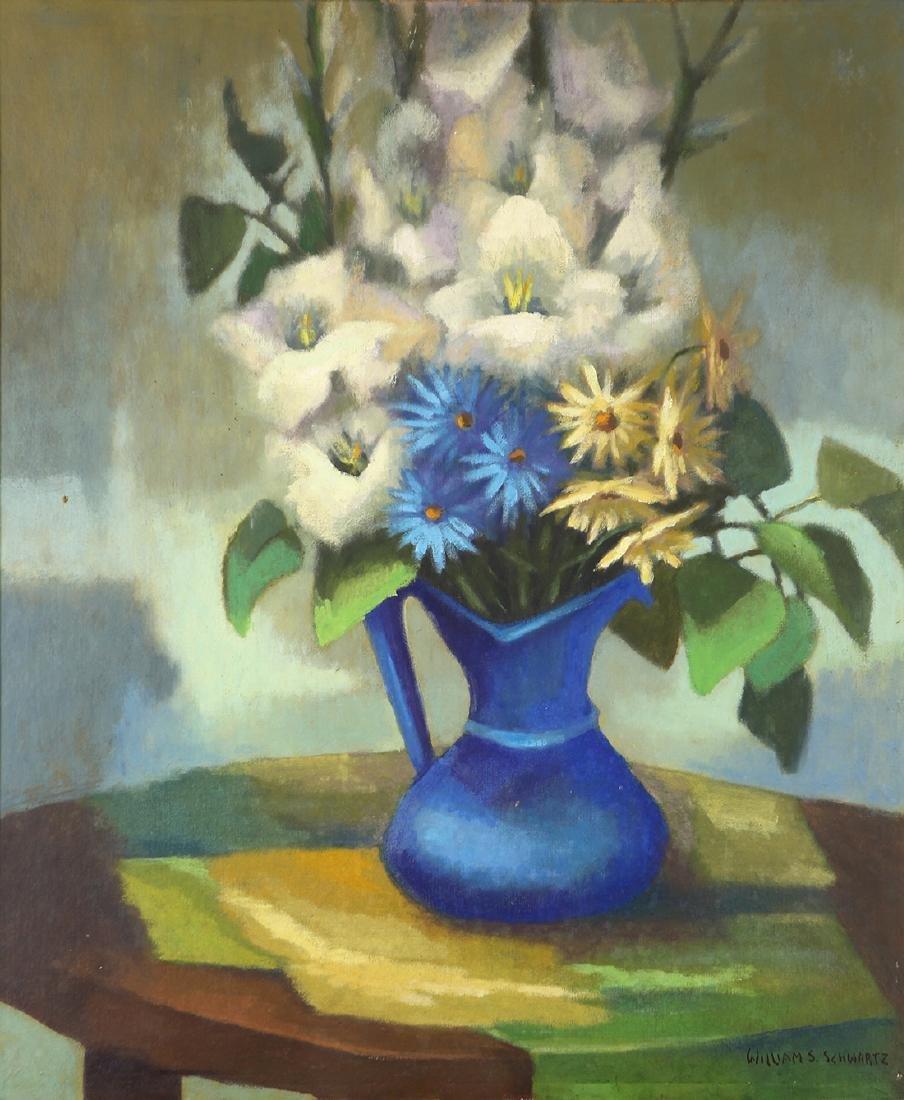 Painting, William S. Schwartz