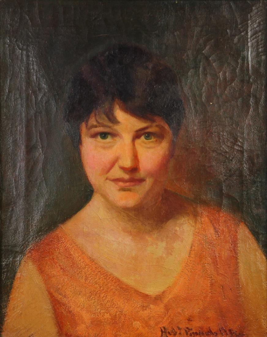 Painting, Robert Vonnoh