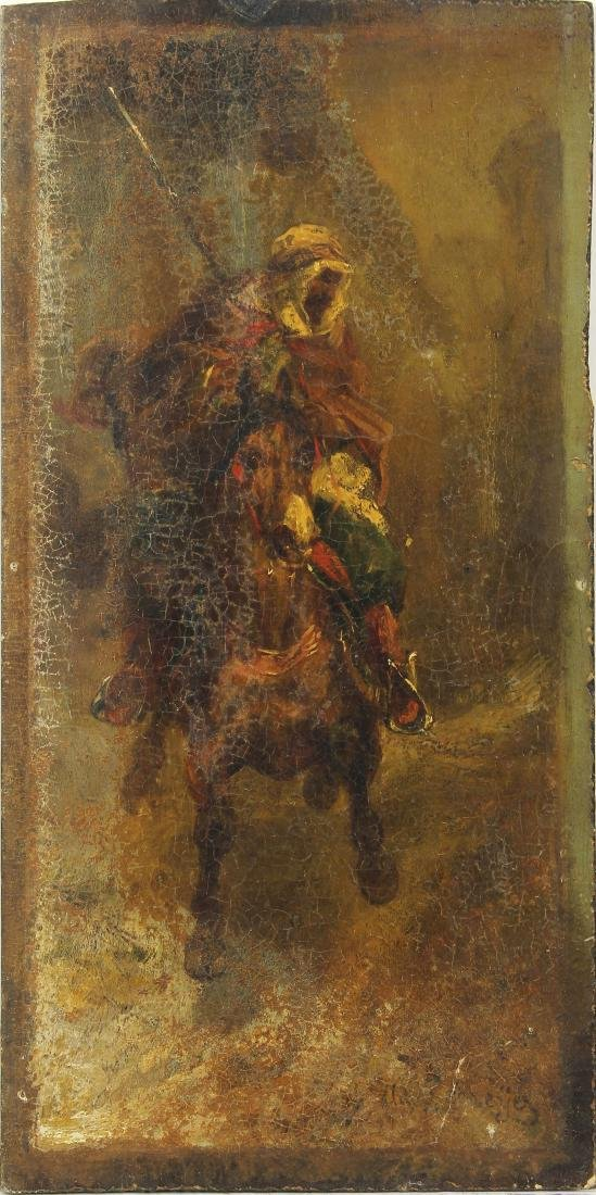 Painting, Adolph Schreyer