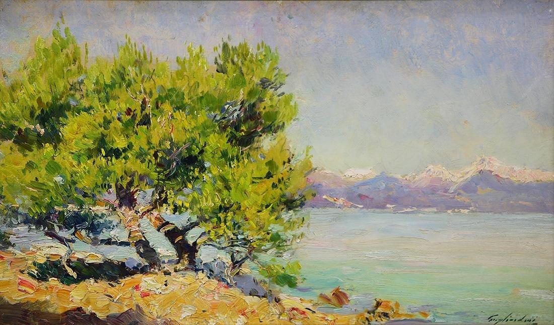 Painting, Julien Gustave Gagliardini