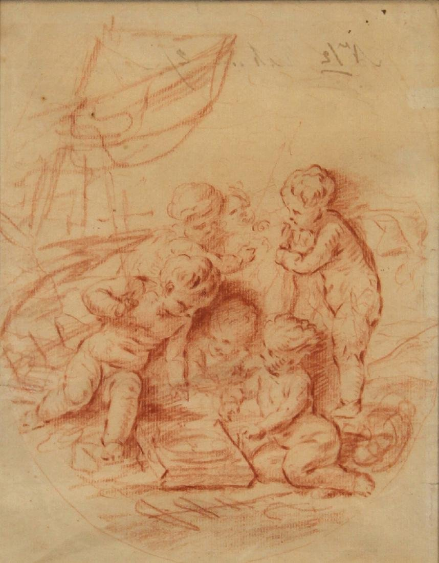 Drawing, Follower of Francois Boucher