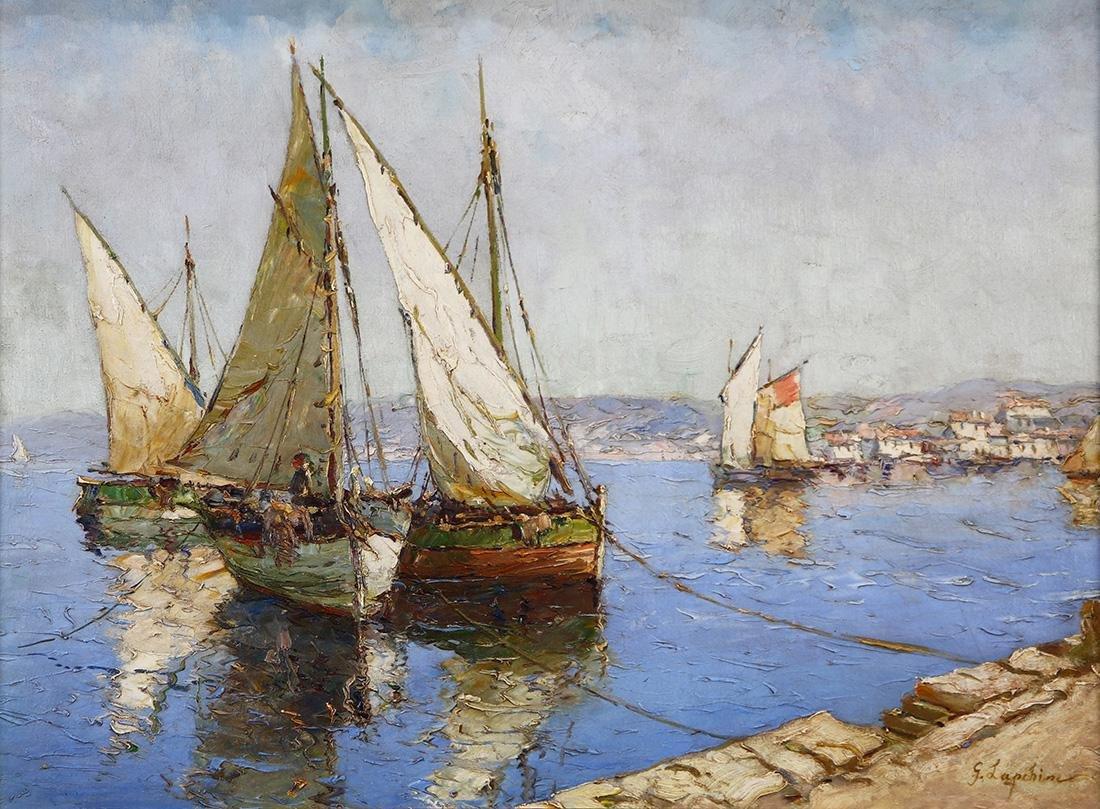 Painting, Georgi Alexandrovich Lapchine