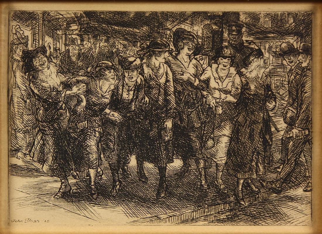 Print, John French Sloan
