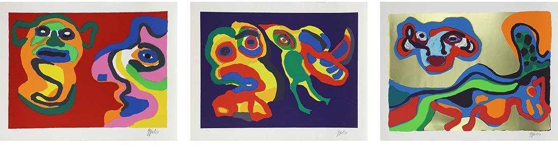 Karel Appel, Happy Meeting Portfolio