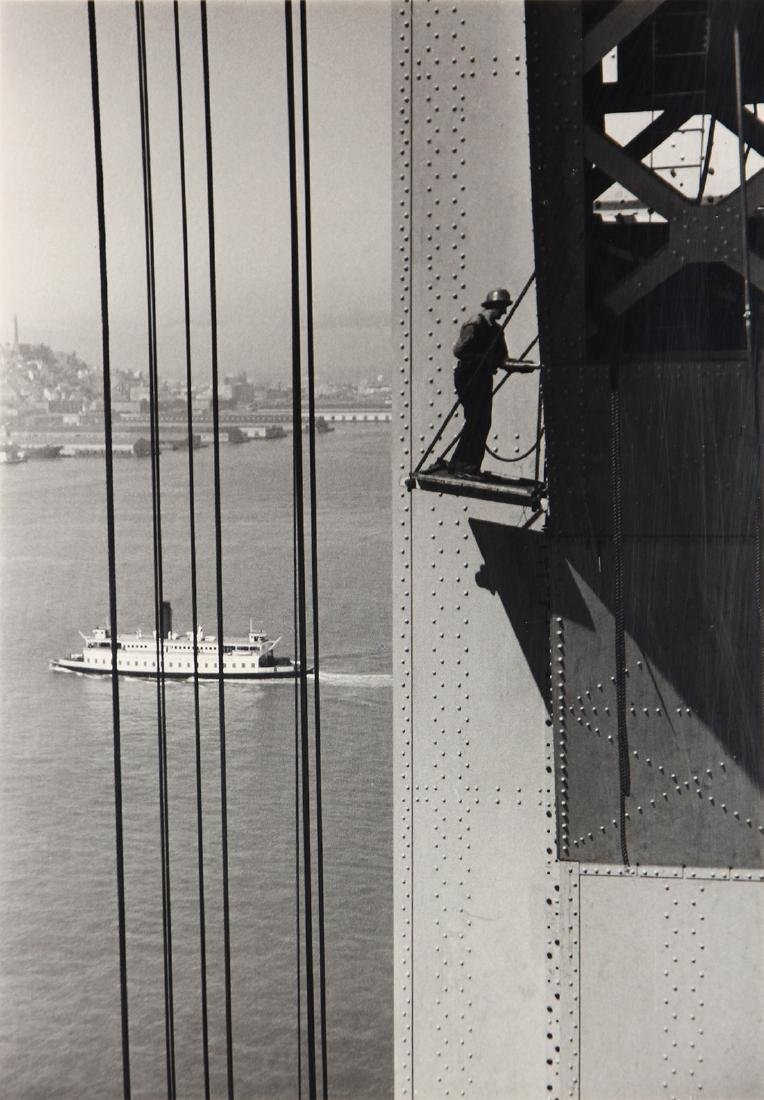 Photograph, Peter Stackpole, Building the Bay Bridge