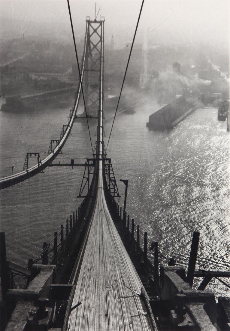 Photograph, Peter Stackpole, Building the Bay Bridge,