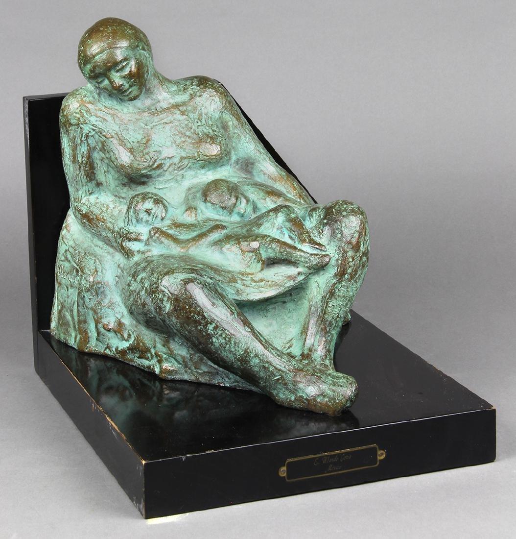 Sculpture, Woman with Children