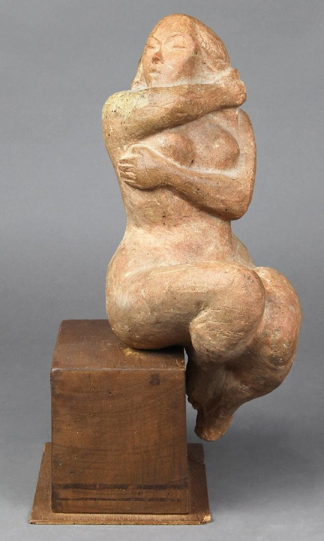 Sculpture, Untitled (Kneeling Nude Woman)