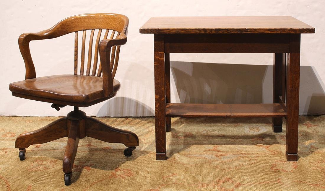 (lot of 2) Stickley Brothers Arts and Crafts