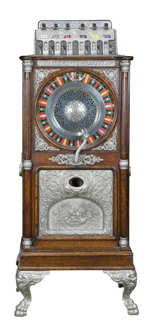 """Five cent Caille """"Caille Eclipse"""" upright floor model"""