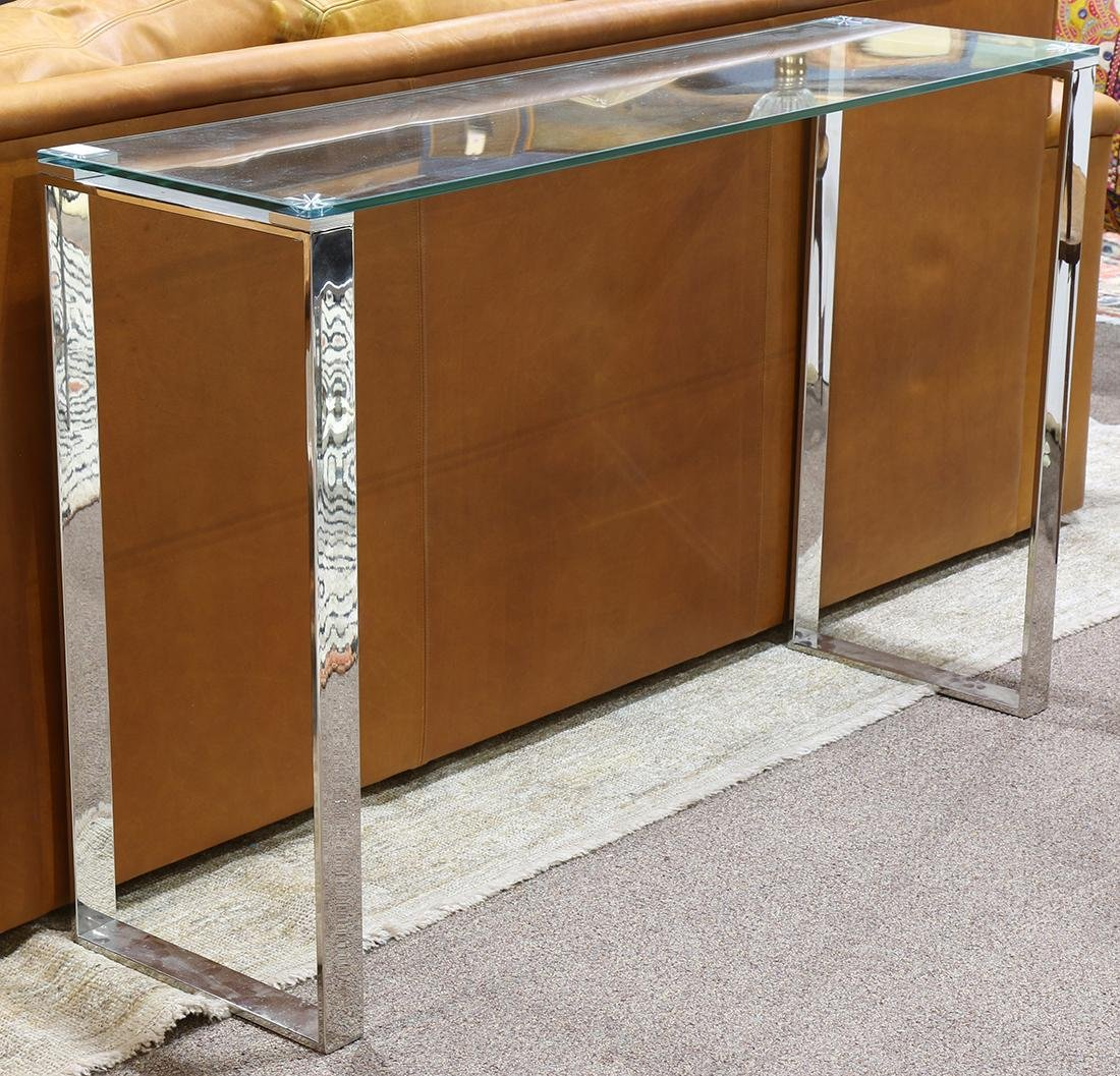 Italian Moderne style console table