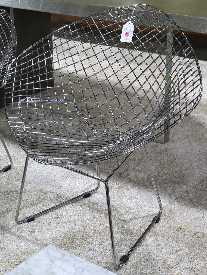 Harry Bertoia style diamond chair