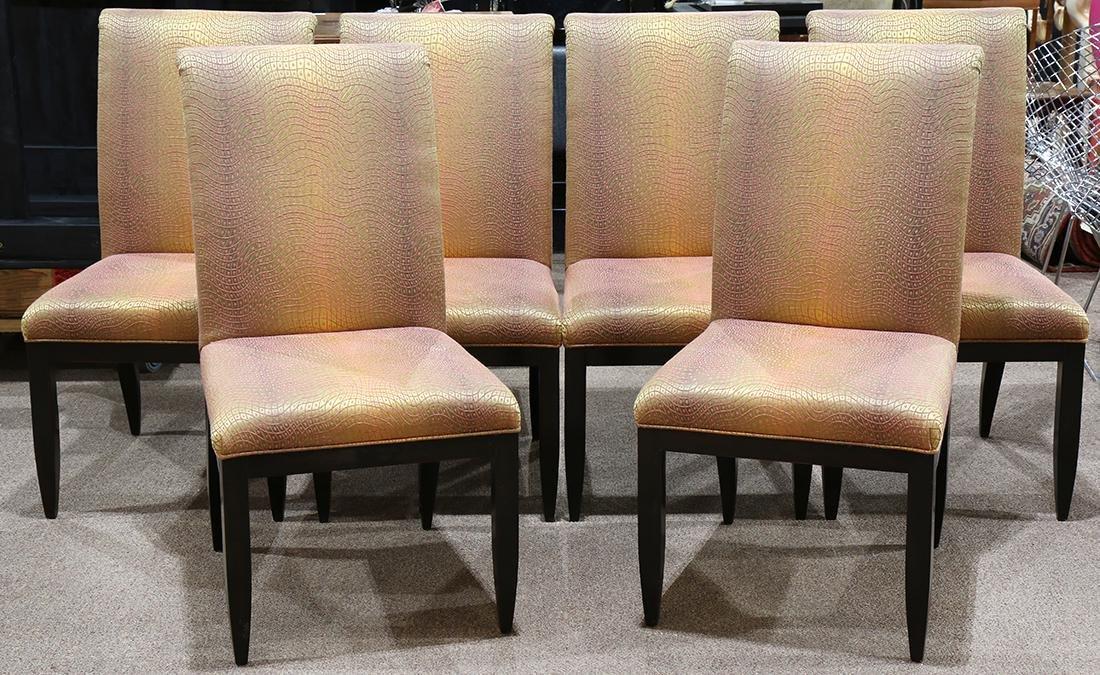 (lot of 6) Moderne Swaim dining chairs