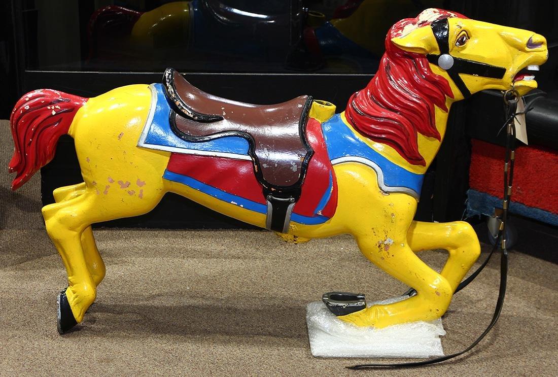 Cast iron carousel horse circa 1940