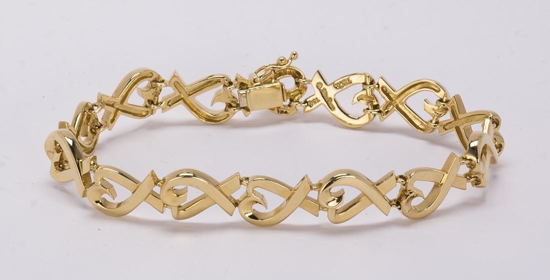 Tiffany & Co. Paloma Picasso, 18k yellow gold 'Loving