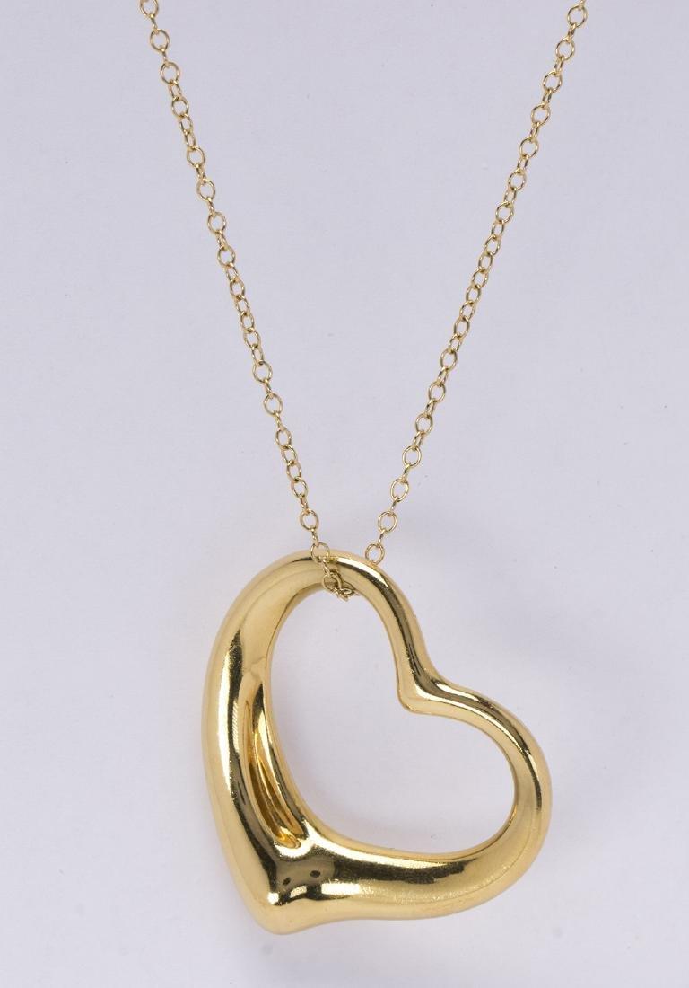 "Tiffany & Co. Elsa Peretti, 18k yellow gold large ""Open"