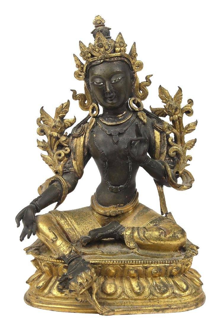 Sino-Tibetan Bronze Tara