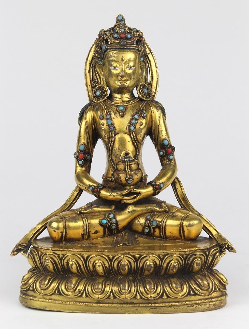 Sino-Tibetan Bronze Amitayus