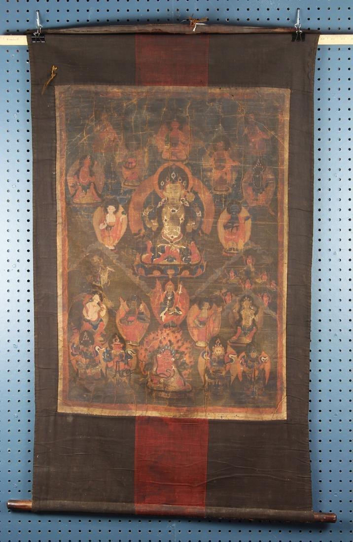 Himalayan Thangka, Avalokitesvara