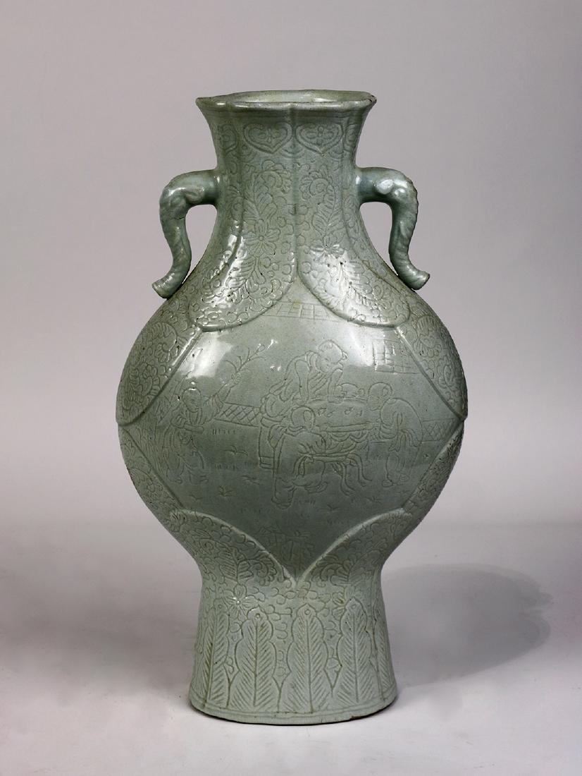 Chinese Yingqing Vase