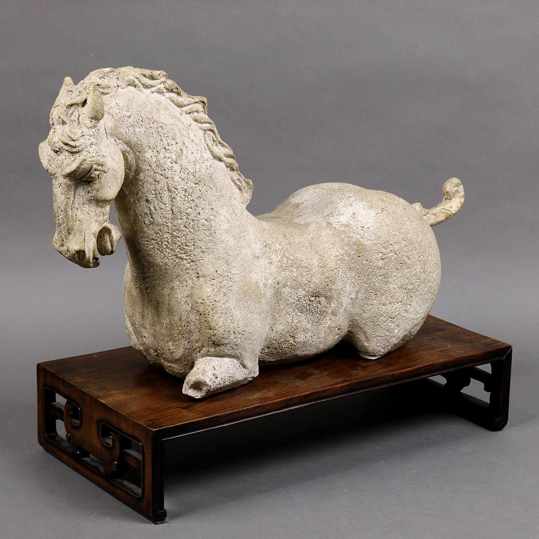 Chinese Style Horse Sculpture