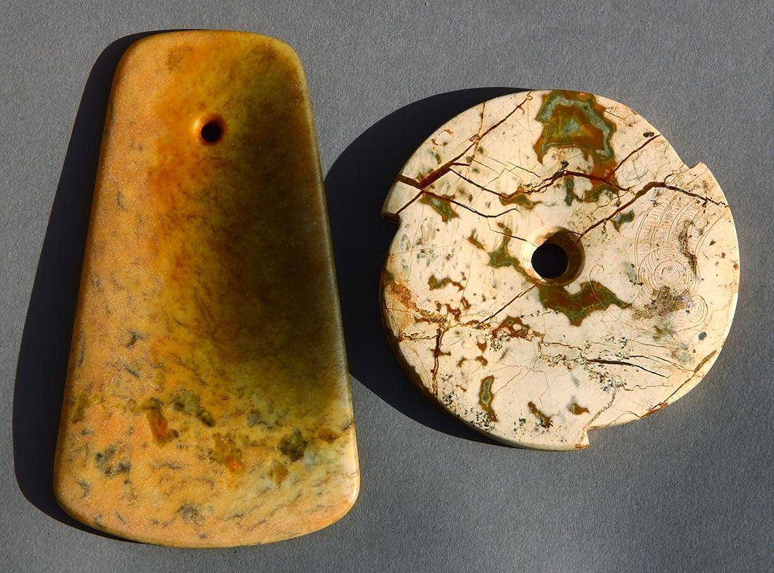 Chinese Archaistic Ax/Disc