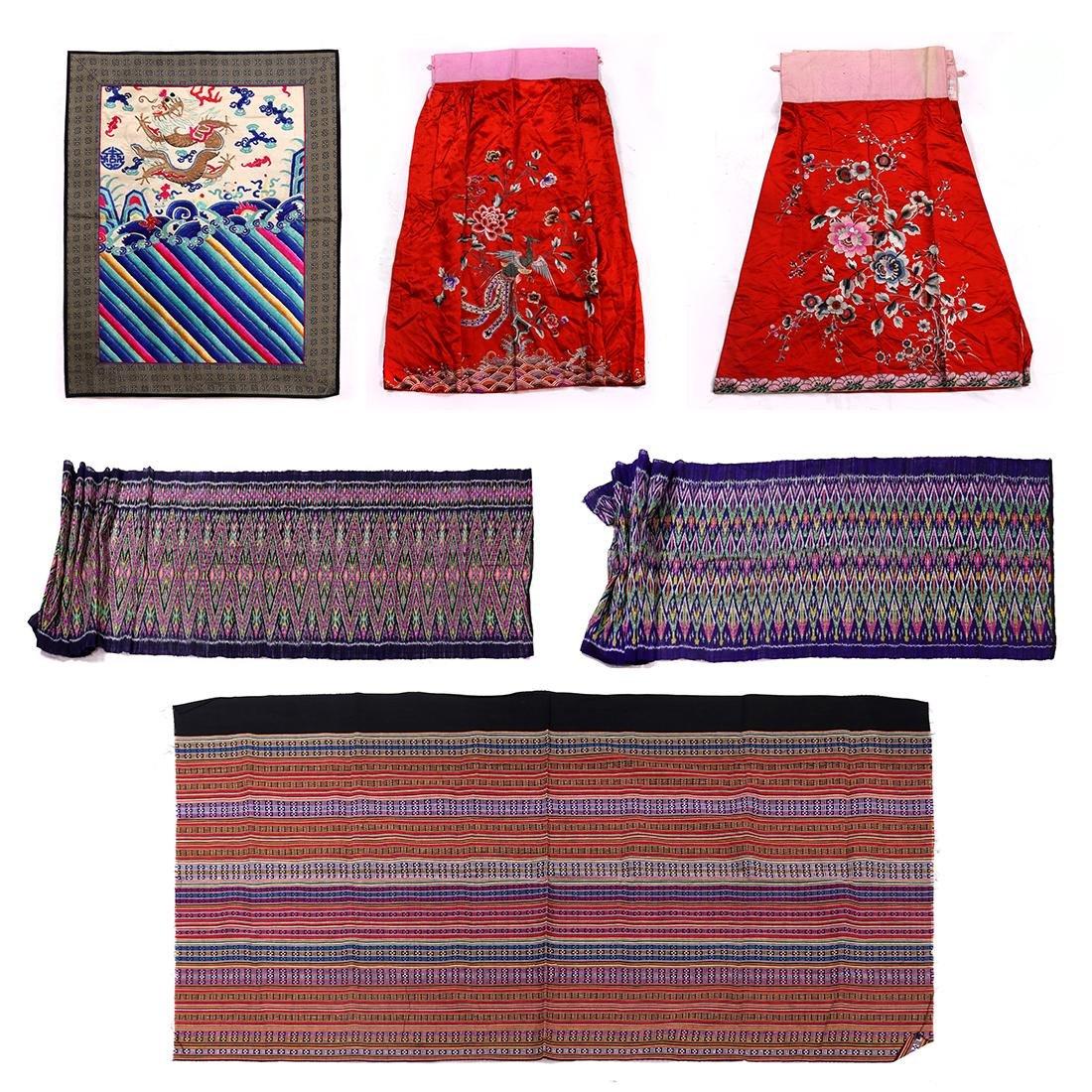 Selection of Asian Textiles