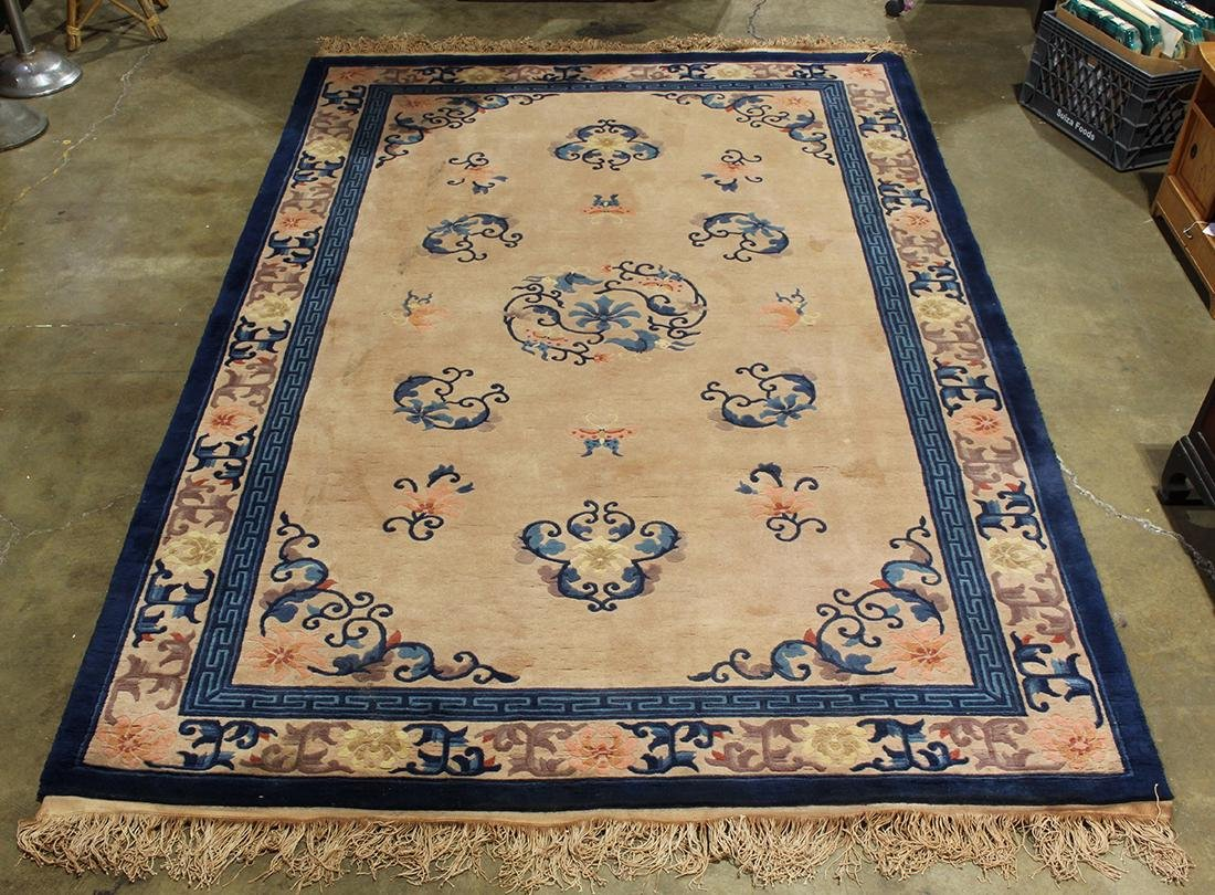 "Chinese Peking style carpet, 10' x 5'11"""