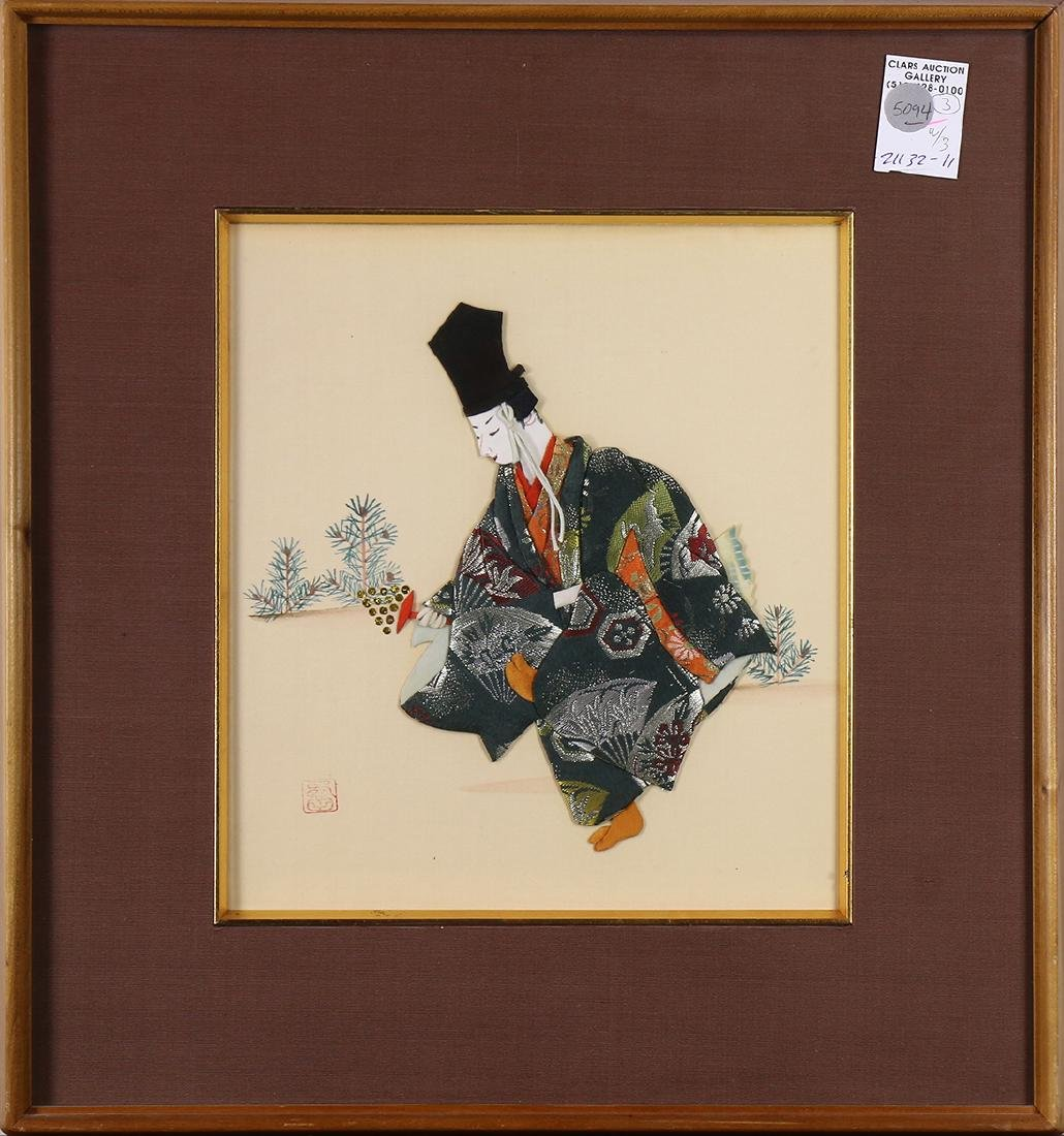 Japanese Prints of Noh Mask
