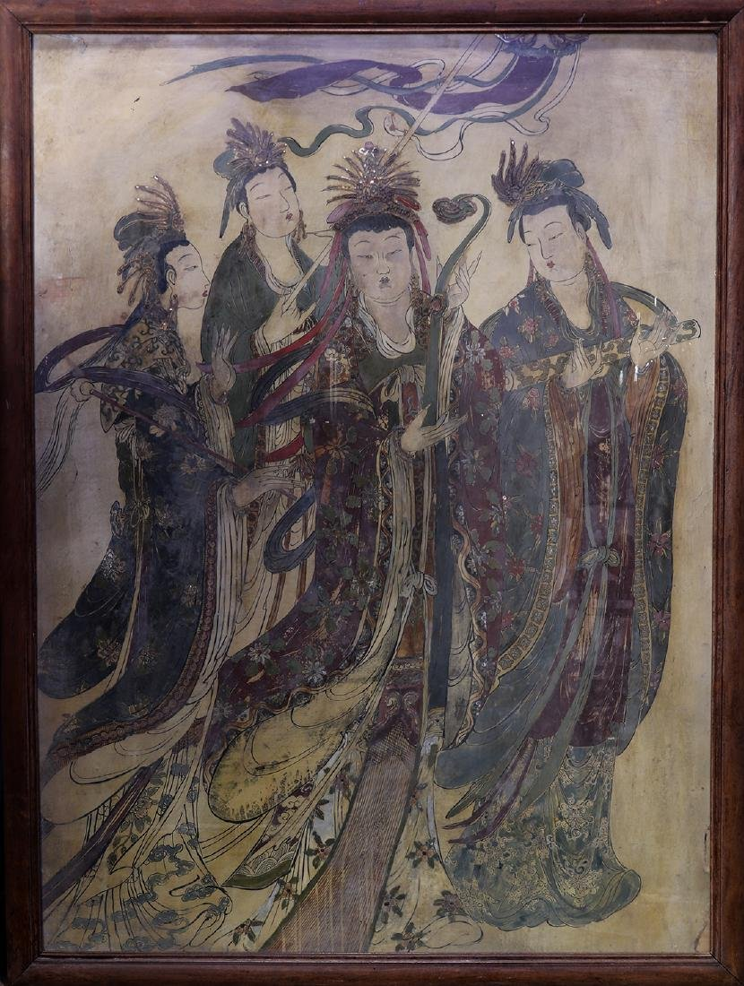 Chinese Painting, Celestial Beauties